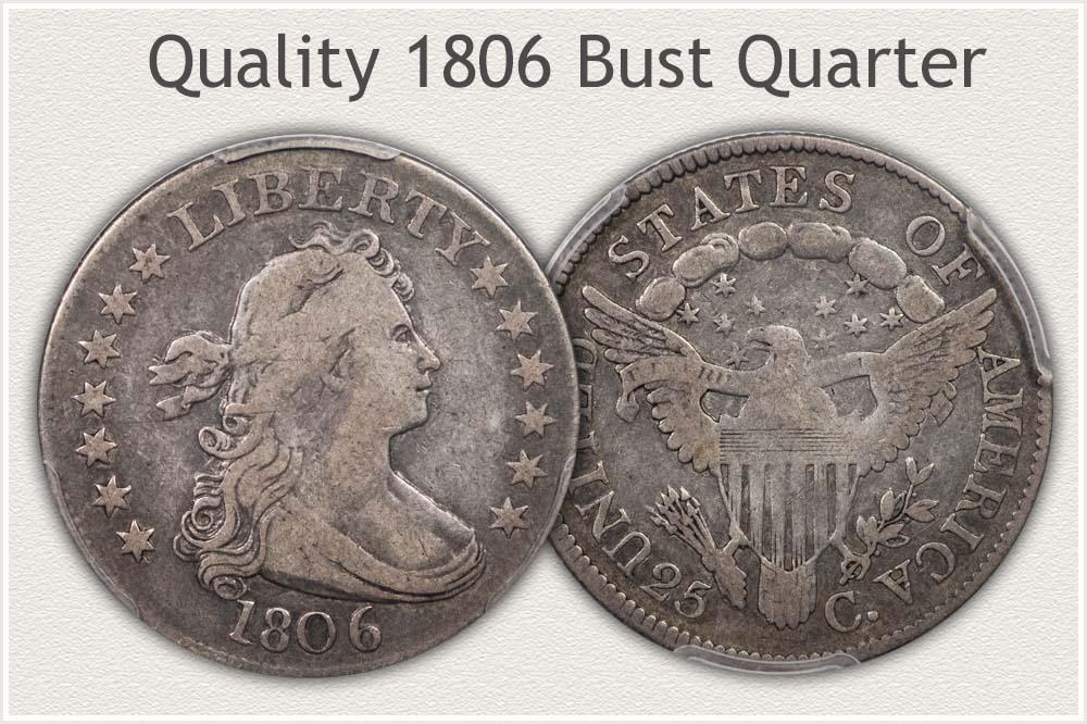 1806 Bust Quarter