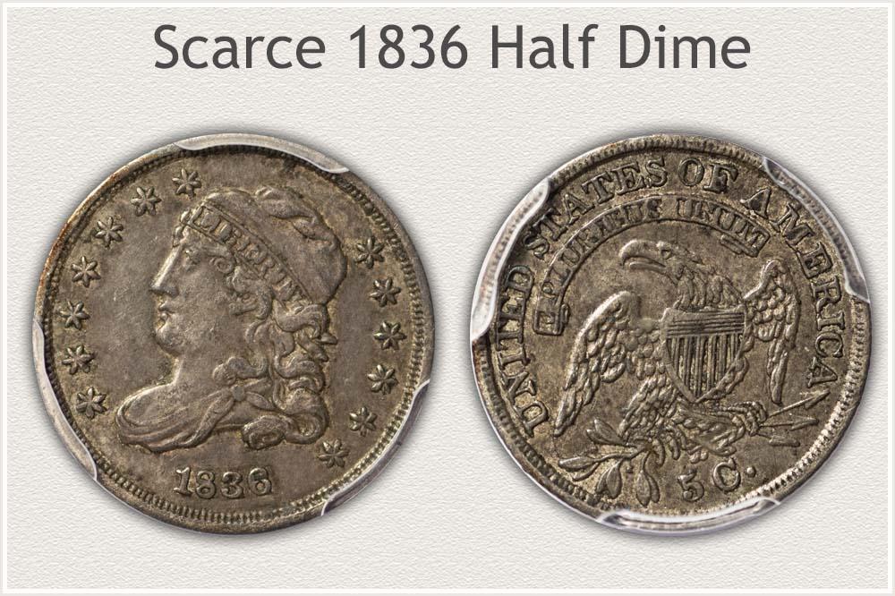 1836 Half Dime
