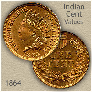 Uncirculated 1864 Indian Head Penny