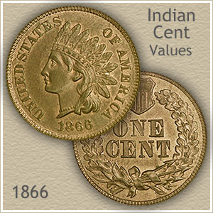 Uncirculated 1866 Indian Head Penny