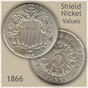 Uncirculated 1866 Nickel Value