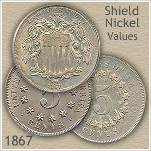 Uncirculated 1867 Nickel Value