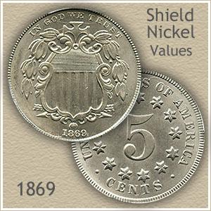 Uncirculated 1869 Nickel Value