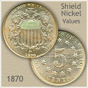 Uncirculated 1870 Nickel Value