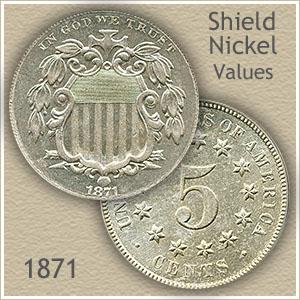 Uncirculated 1871 Nickel Value