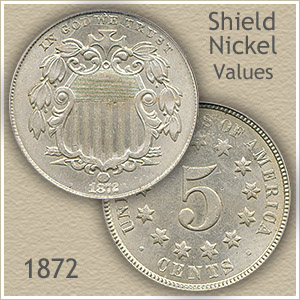 Uncirculated 1872 Nickel Value