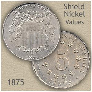 Uncirculated 1875 Nickel Value