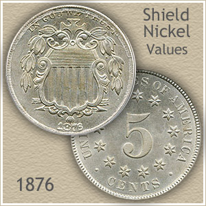 Uncirculated 1876 Nickel Value
