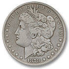1878 Morgan Silver Dollar Fine Condition