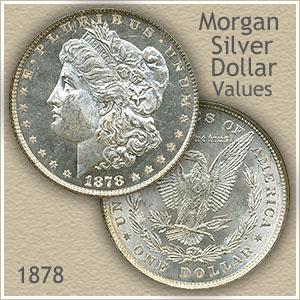 Uncirculated 1878 Morgan Silver Dollar Value