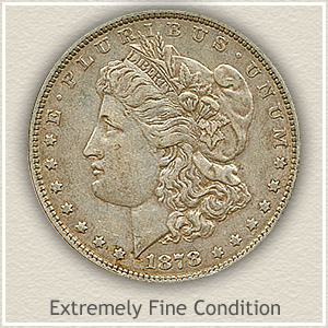 1878 Morgan Silver Dollar Extremely Fine Condition