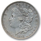 1878 Morgan Silver Dollar Extremely Fine Condition