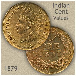Uncirculated 1879 Indian Head Penny
