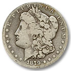 1879 Morgan Silver Dollar Good Condition