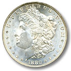 1880 Morgan Silver Dollar Uncirculated Condition