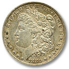 1880 Morgan Silver Dollar Extremely Fine Condition