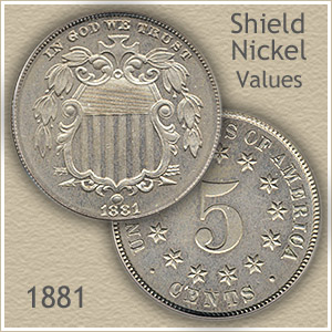 Uncirculated 1881 Nickel Value