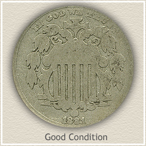 Shield Nickel | Good Condition