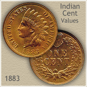 Uncirculated 1883 Indian Head Penny