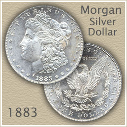 Uncirculated 1883 Morgan Silver Dollar Value