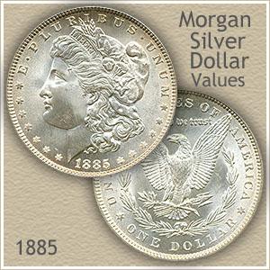 Uncirculated 1885 Morgan Silver Dollar Value