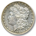 1885 Morgan Silver Dollar Extremely Fine Condition