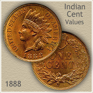 Uncirculated 1888 Indian Head Penny