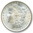 1888 Morgan Silver Dollar Uncirculated Condition
