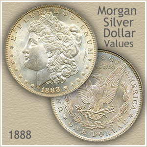 Uncirculated 1888 Morgan Silver Dollar Value