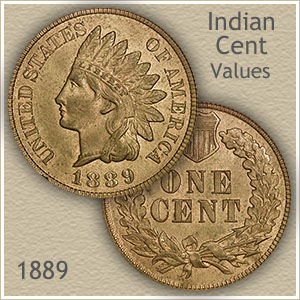 Uncirculated 1889 Indian Head Penny