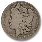 1889 Morgan Silver Dollar Good Condition