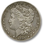 1889 Morgan Silver Dollar Extremely Fine Condition