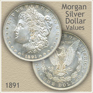 1891 Morgan Silver Dollar Value | Discover Their Worth