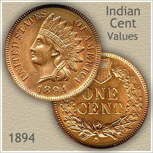 Uncirculated 1894 Indian Head Penny