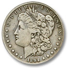 1894 Morgan Silver Dollar Fine Condition