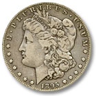 1895 Morgan Silver Dollar Fine Condition