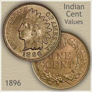 Uncirculated 1896 Indian Head Penny