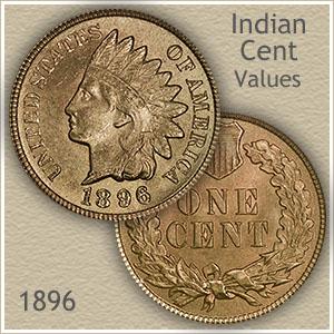 Uncirculated 1896 Indian Head Penny