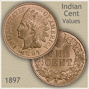 Uncirculated 1897 Indian Head Penny