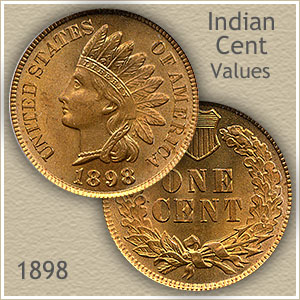 Uncirculated 1898 Indian Head Penny