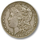 1898 Morgan Silver Dollar Extremely Fine Condition