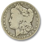 1899 Morgan Silver Dollar Good Condition