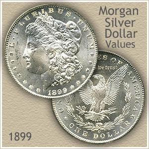 Uncirculated 1899 Morgan Silver Dollar Value