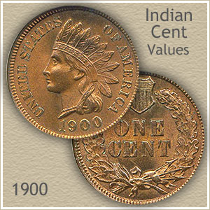 Uncirculated 1900 Indian Head Penny