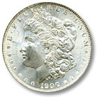 1900 Morgan Silver Dollar Uncirculated Condition