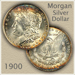 Uncirculated 1900 Morgan Silver Dollar Value