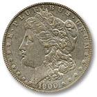 1900 Morgan Silver Dollar Extremely Fine Condition