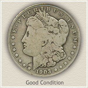 1903 Morgan Silver Dollar Good Condition
