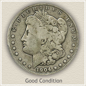 1904 Morgan Silver Dollar Good Condition