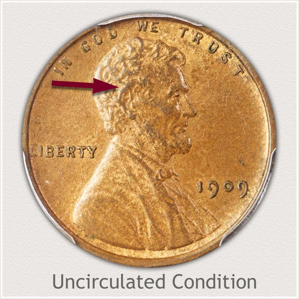 Uncirculated Grade 1909 Lincoln Penny